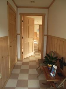 Entryway to Studio